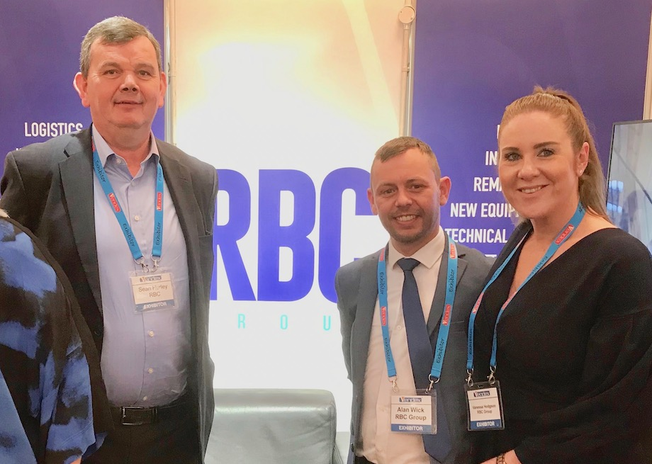 Image of the RBC team at an event